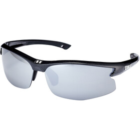 Bliz Motion M5 Lunettes, metallic black/smoke with silver mirror